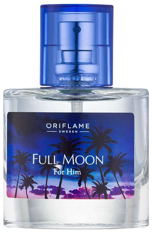 Oriflame Full Moon For Him Eau de Toilette para homens 30 ml