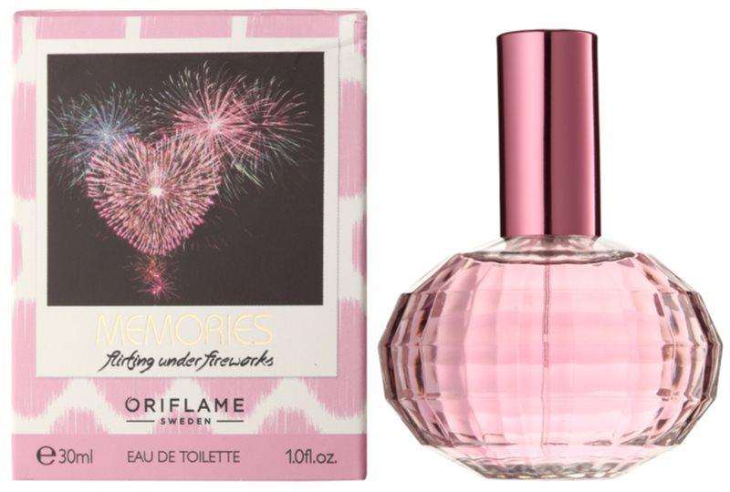 Oriflame Memories: Flirting Under Fireworks toaletní voda pro ženy 30 ml