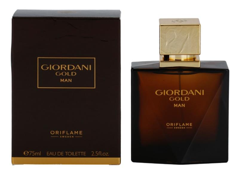 Oriflame Giordani Gold Man eau de toilette férfiaknak 75 ml