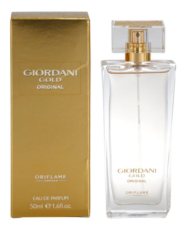 Oriflame Giordani Gold Original eau de parfum pour femme 50 ml