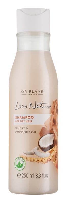 Oriflame Love Nature Shampoo  voor Droog Haar