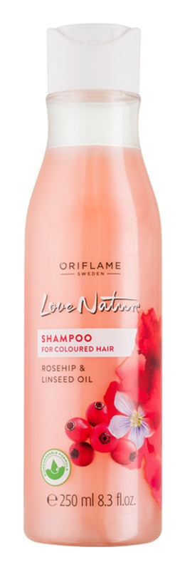 Oriflame Love Nature champú para cabello teñido