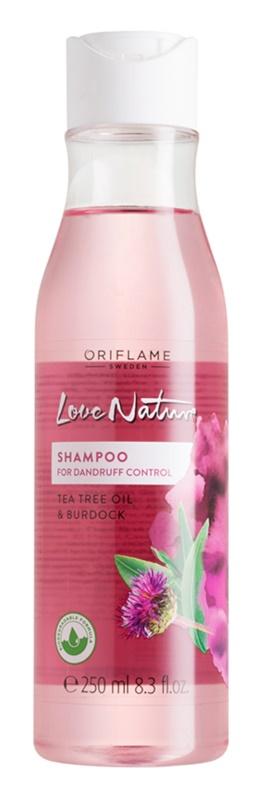 Oriflame Love Nature szampon przeciwłupieżowy