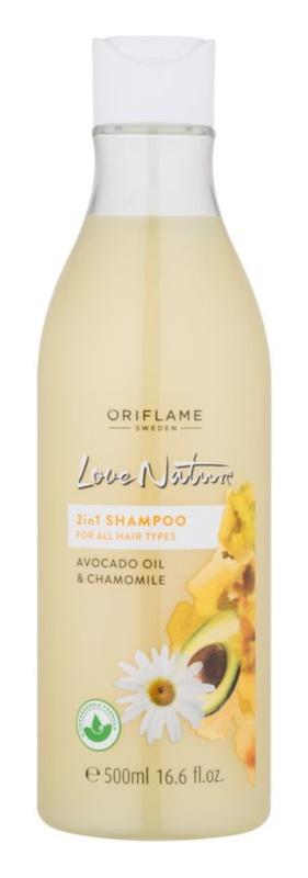 Oriflame Love Nature champú para todo tipo de cabello