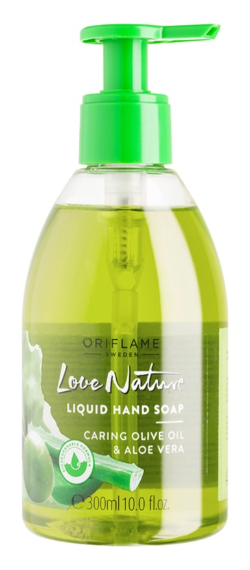 Oriflame Love Nature tekuté mydlo na ruky