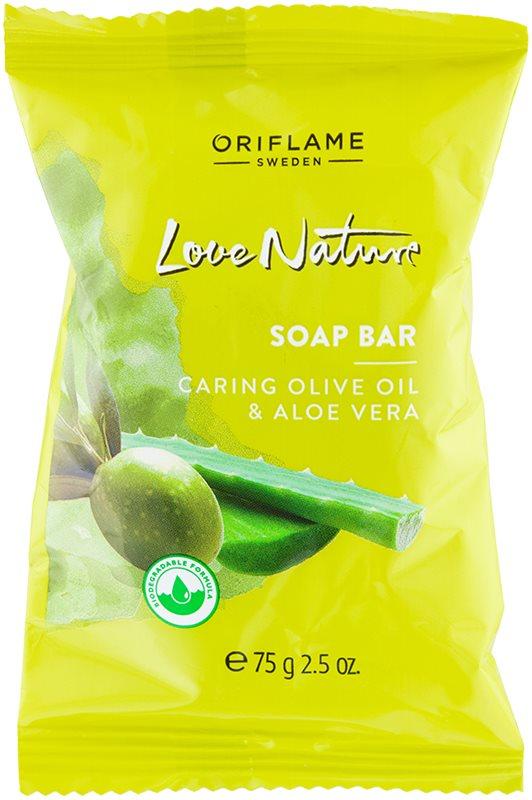 Oriflame Love Nature Bar Soap With Aloe Vera