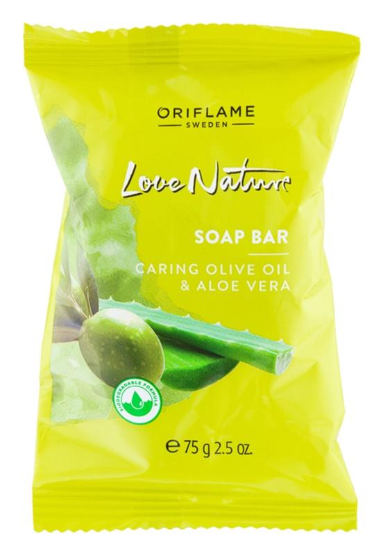 Oriflame Love Nature sapun solid cu aloe vera