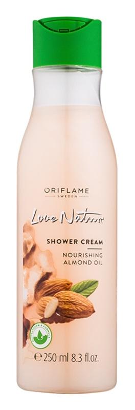 Oriflame Love Nature Duschcreme mit Mandelöl