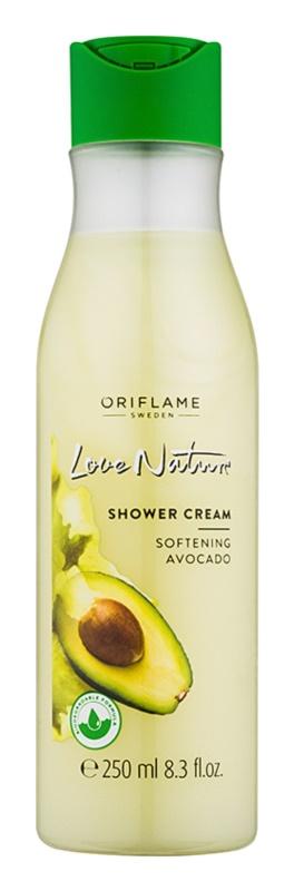 Oriflame Love Nature Duschcreme mit Avokado