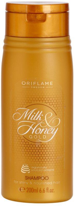 Oriflame Milk & Honey Gold champô nutritivo para cabelo