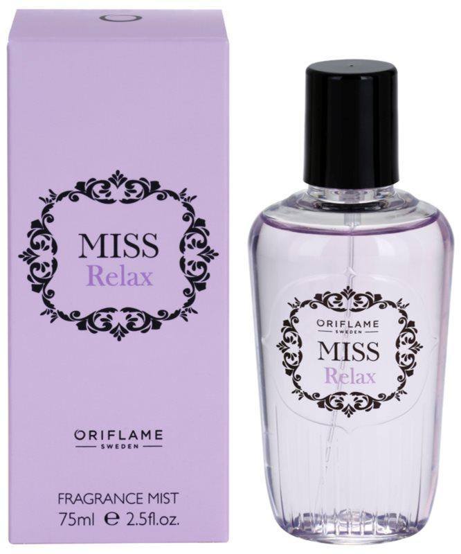 Oriflame Miss Relax Body Spray for Women 75 ml