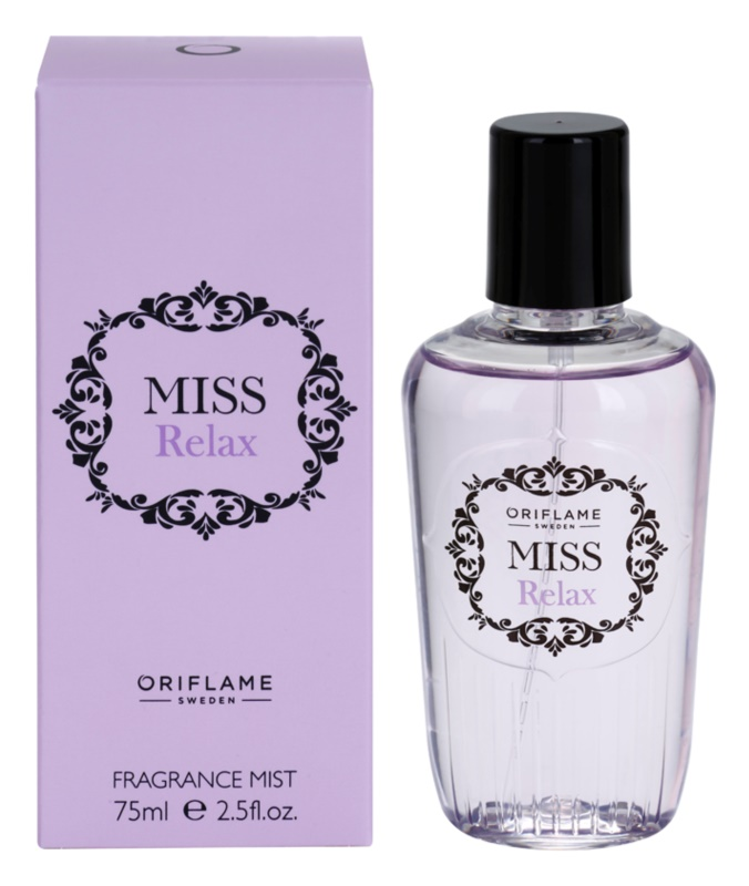 Oriflame Miss Relax spray corporal para mujer 75 ml