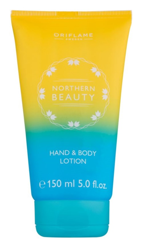 Oriflame Northern Beauty mléko na ruce a tělo