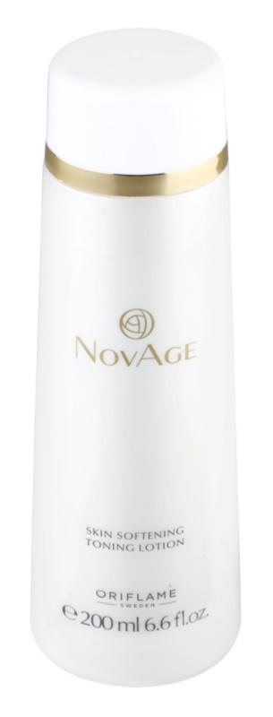 Oriflame Novage tónico hidratante e suavizante