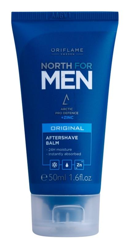Oriflame North For Men balzám po holení se zinkem
