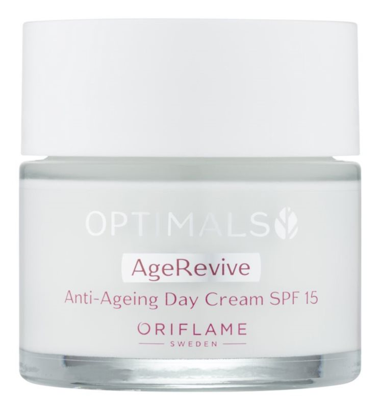 Oriflame Optimals crema de día  antiarrugas  SPF 15