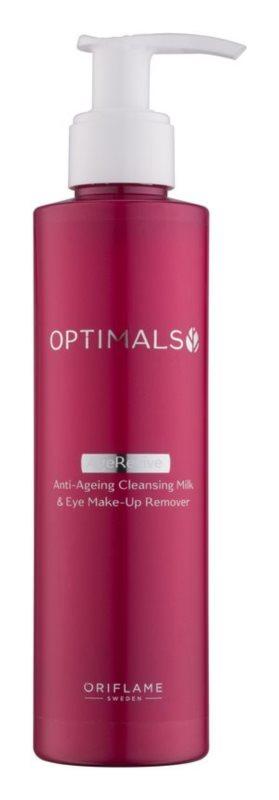 Oriflame Optimals leche desmaquillante para rostro y ojos 2 en 1