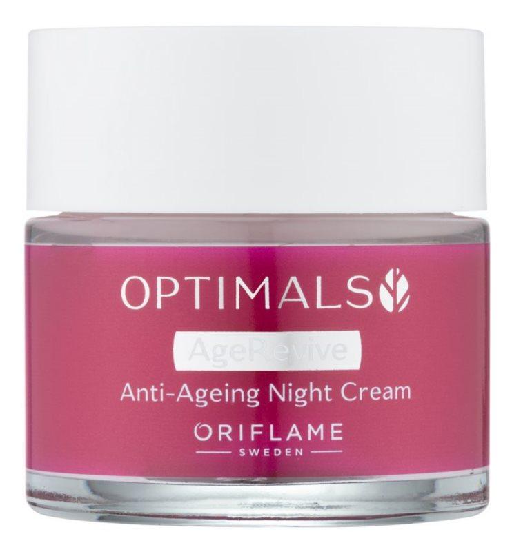 Oriflame Optimals crema de noche antiarrugas