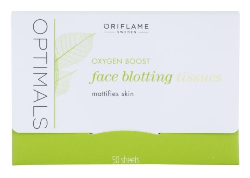 Oriflame Optimals Oxygen Boost Mattierende Tücher