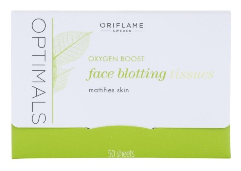 Oriflame Optimals Oxygen Boost papieriky na zmatnenie