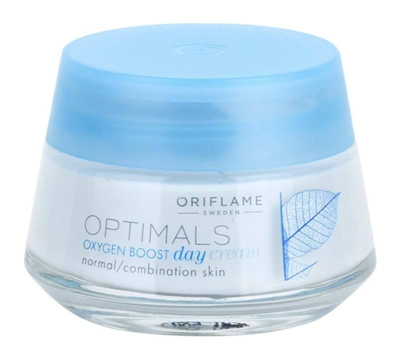 Oriflame Optimals Oxygen Boost erfrischende Tagescreme für normale Haut und Mischhaut