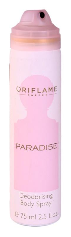 Oriflame Paradise déo-spray pour femme 75 ml