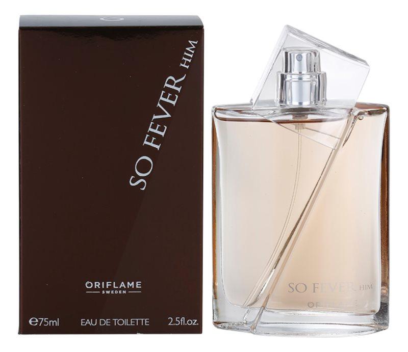 Oriflame So Fever Him Eau de Toilette for Men 75 ml