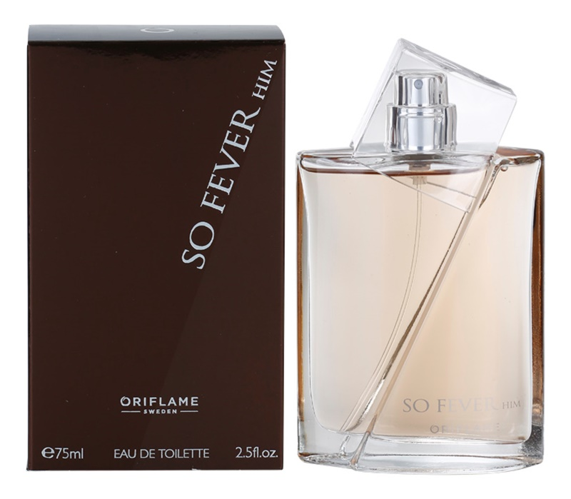 Oriflame So Fever Him Eau de Toilette für Herren 75 ml