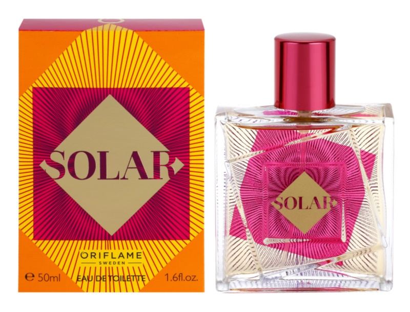 Oriflame Solar Eau de Toilette for Women 50 ml