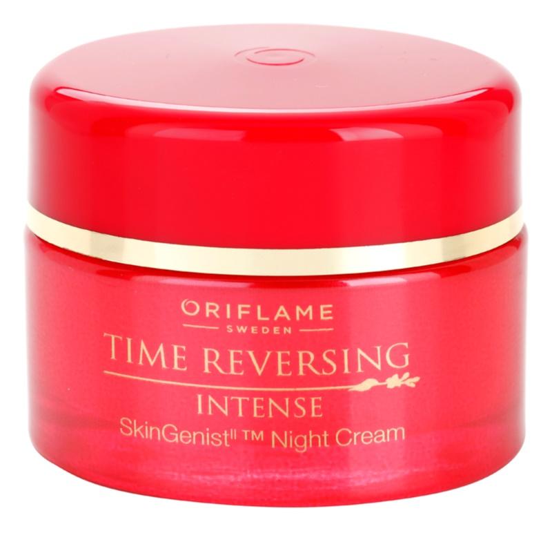 Oriflame Time Reversing Intense vyhlazující noční krém pro zpevnění pleti
