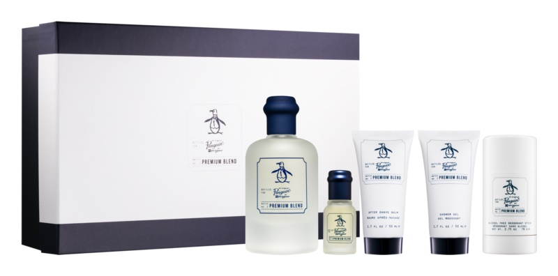 Original Penguin Premium Blend Fragrance Gift Set for Men 5 pc  I.