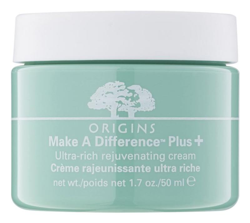 Origins Make A Difference™ crema rejuvenecedora para pieles secas