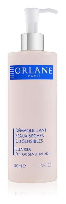 Orlane Cleansing mleko za odstranjevanje ličil za občutljivo in suho kožo