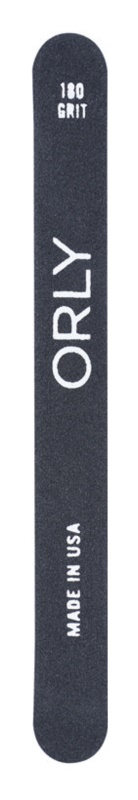 Orly Black Board Pila foarte aspra pentru unghiile artificiale