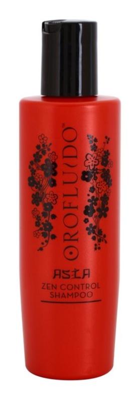 Orofluido Asia Zen champú nutritivo para cabello encrespado y rebelde