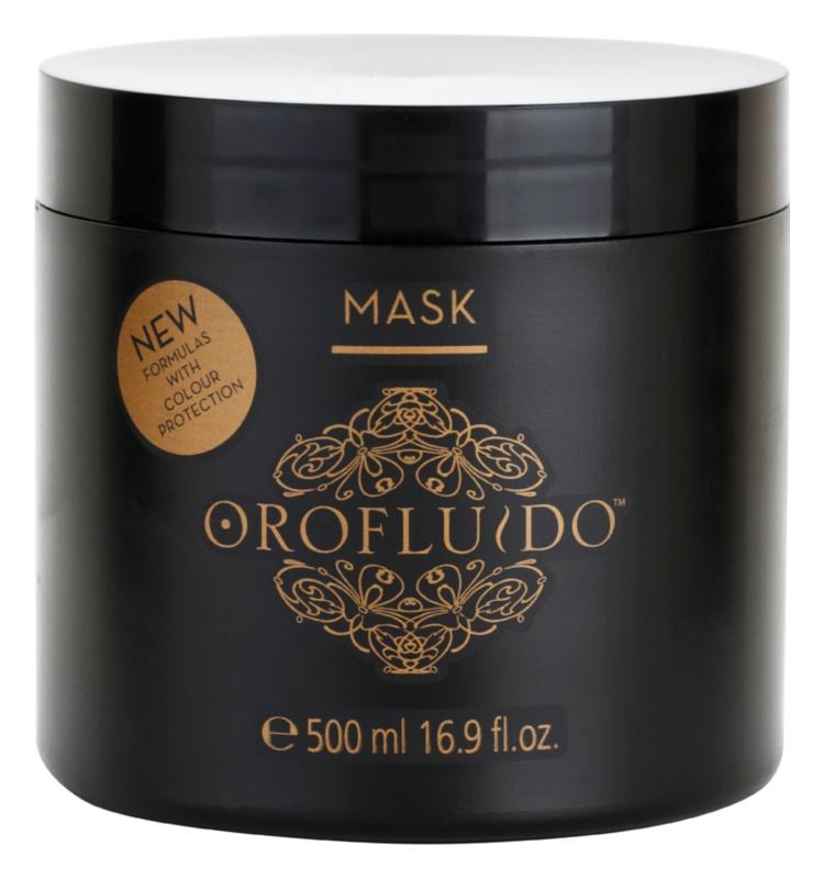 Orofluido Beauty intenzívna hydratačná maska pre prírodné alebo farbené vlasy