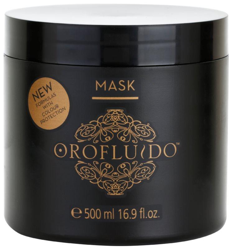 Orofluido Beauty intenzivní hydratační maska pro přírodní nebo barvené vlasy