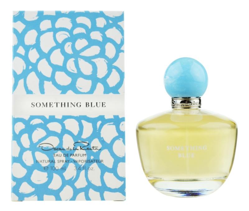 Oscar de la Renta Something Blue Eau de Parfum Für Damen 100 ml