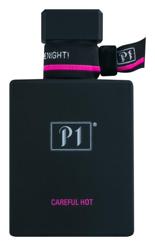 P1 Careful Hot eau de parfum per donna 50 ml
