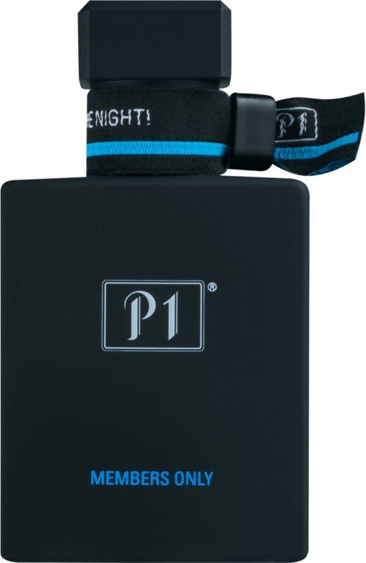 P1 Members Only eau de toilette pour homme 50 ml