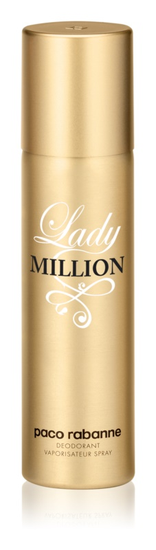 Paco Rabanne Lady Million deodorant Spray para mulheres 150 ml