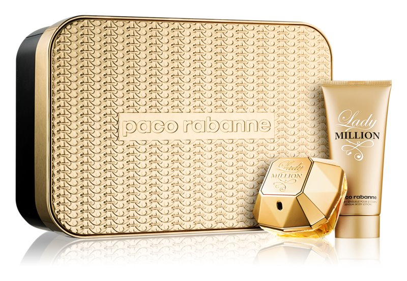Paco Rabanne Lady Million confezione regalo I.