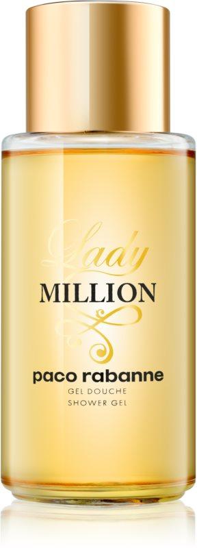 Paco Rabanne Lady Million sprchový gél pre ženy 200 ml