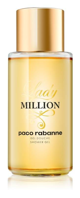 Paco Rabanne Lady Million sprchový gel pro ženy 200 ml