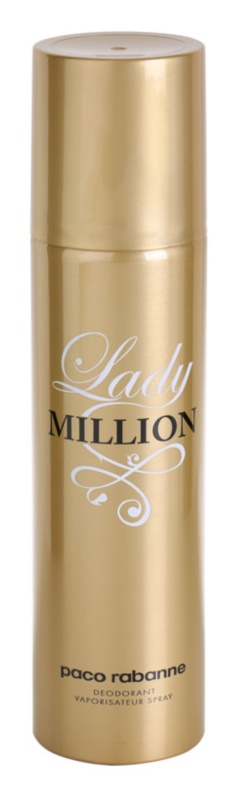 Paco Rabanne Lady Million déo-spray pour femme 150 ml