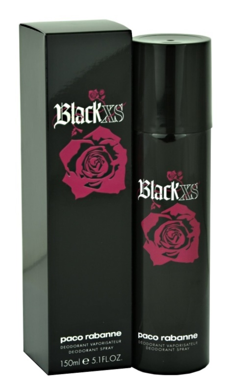 Paco Rabanne Black XS  For Her deodorant Spray para mulheres 150 ml