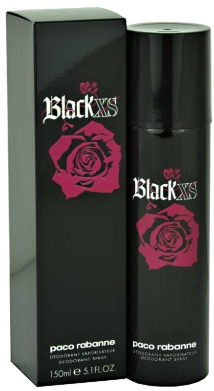 Paco Rabanne Black XS  For Her desodorante en spray para mujer 150 ml