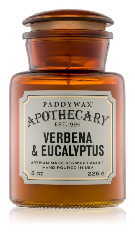 Paddywax Apothecary Verbena & Eucalyptus Scented Candle 226 g