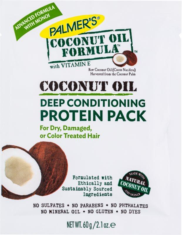 Palmer's Hair Coconut Oil Formula globinsko regeneracijski balzam za suhe in poškodovane lase