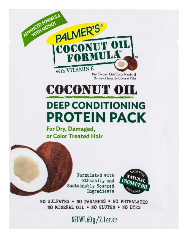 Palmer's Hair Coconut Oil Formula hĺbkovo regeneračný kondicionér pre suché a poškodené vlasy